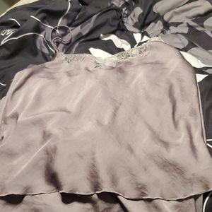 A Victoria's Secret pajama set